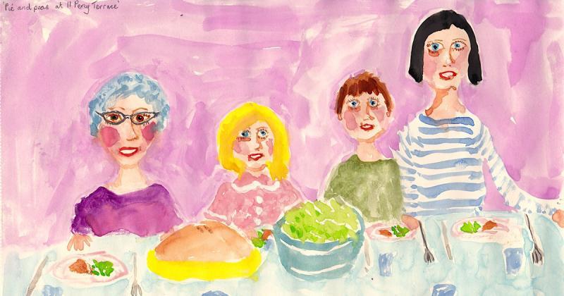 Nghệ sĩ của tuần: Stella Vine với những bức tranh kết hợp giữa 'thấu cảm' và 'nhạo báng'