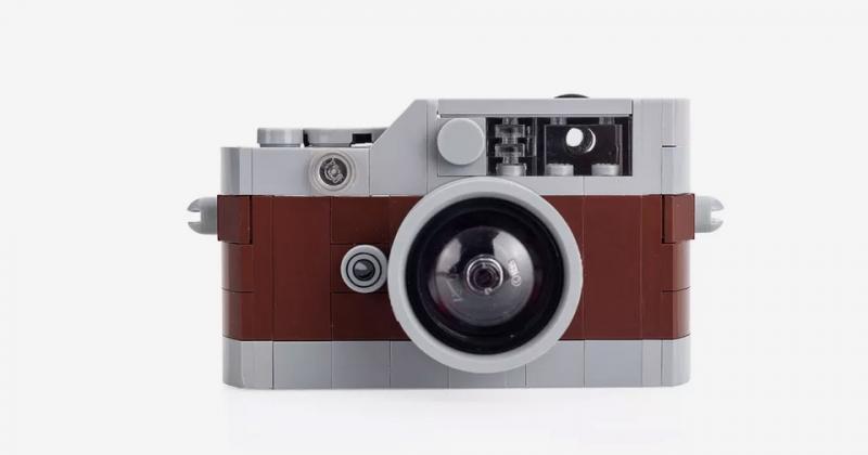 Bạn có muốn sở hữu máy ảnh Leica bằng LEGO?