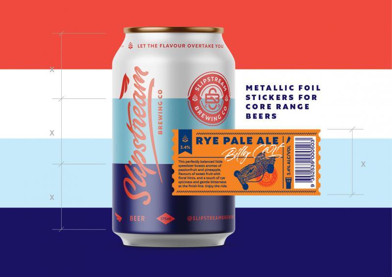 Thiết kế lon bia với tinh thần phóng khoáng tự do