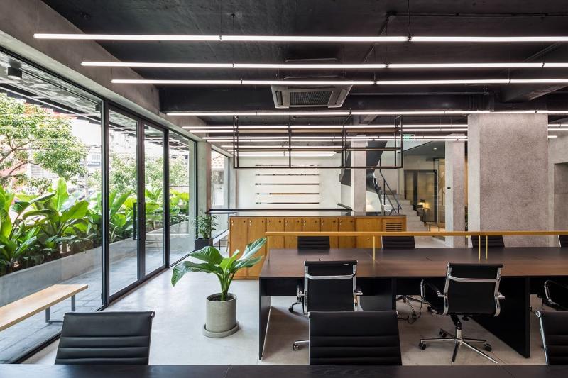 Publik Office: Không gian làm việc 'mở' giữa lòng Sài Gòn