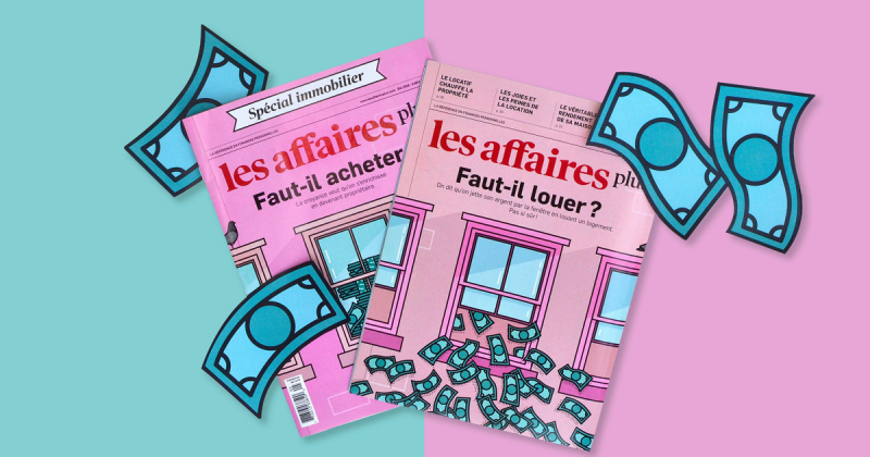 Bìa tạp chí đầy tươi sáng từ họa sĩ minh họa nghiện màu hồng