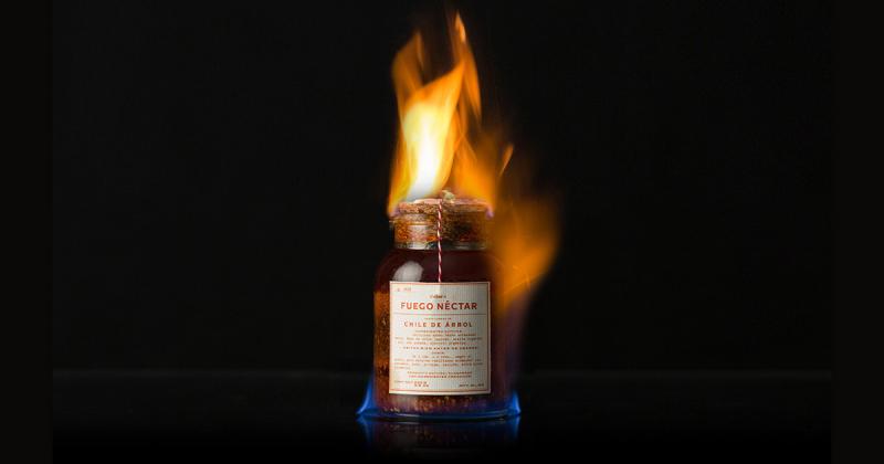 Fuego Néctar - Thương hiệu tương ớt mang phong cách old-school