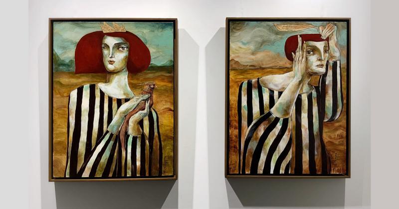 Nghệ sĩ của tuần: Sedat Girgin với những bức tranh giằng xé nội tâm