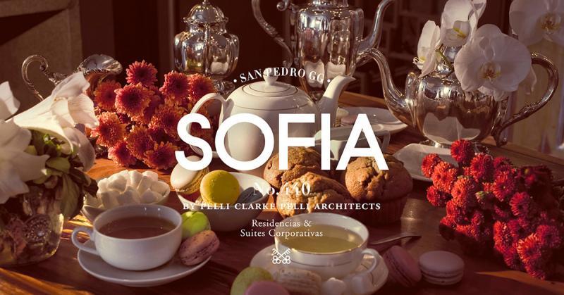 Bộ nhận diện sang trọng cho toà nhà Sofia