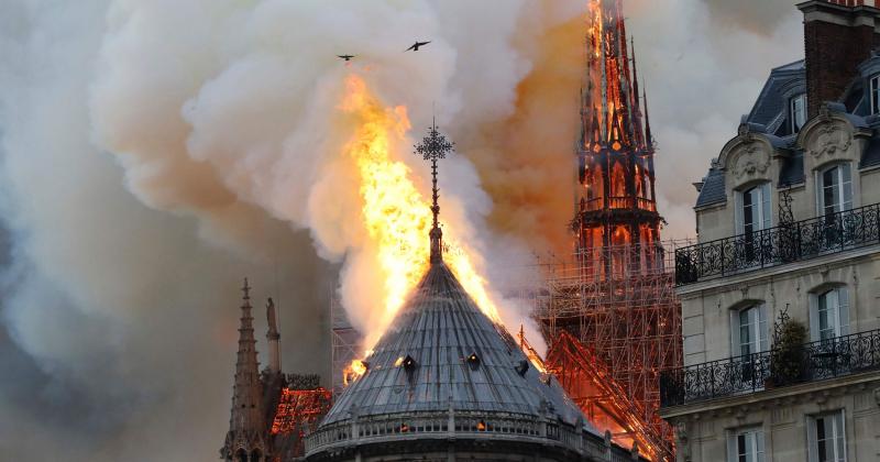Nhà thờ Đức Bà Paris được cứu nhờ một bản đồ số hóa thực hiện 4 năm trước