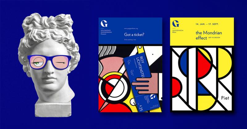 Tái thiết kế nhận diện cho bảo tàng nghệ thuật Guggenheim trứ danh