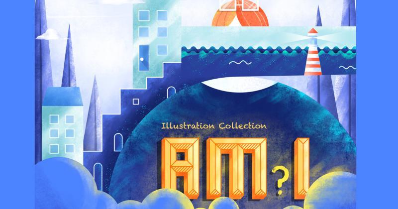 """Am I? - Dự án minh hoạ dành tặng những người bạn đồng nghiệp """"thiện lành"""""""