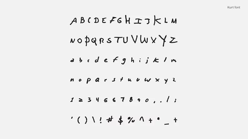 idesign handwritingkurt 04