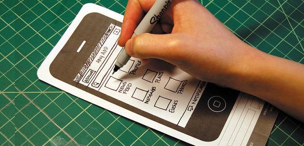 Wireframing và Protyping cho ứng dụng Mobile