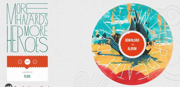 13 xu hướng thiết kế web trong năm 2013