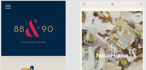 Những trang web thiết kế cho Mobile đẹp mắt