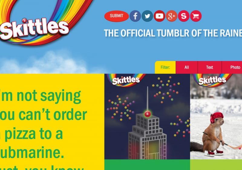 Những trang web 1 trang đẹp mắt