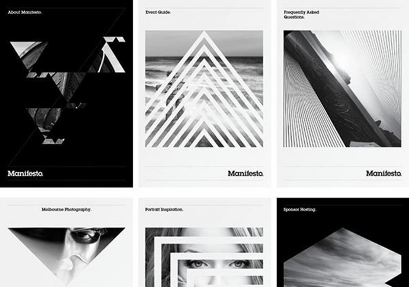 30 cách biến hóa với họa tiết hình học trong thiết kế đồ họa