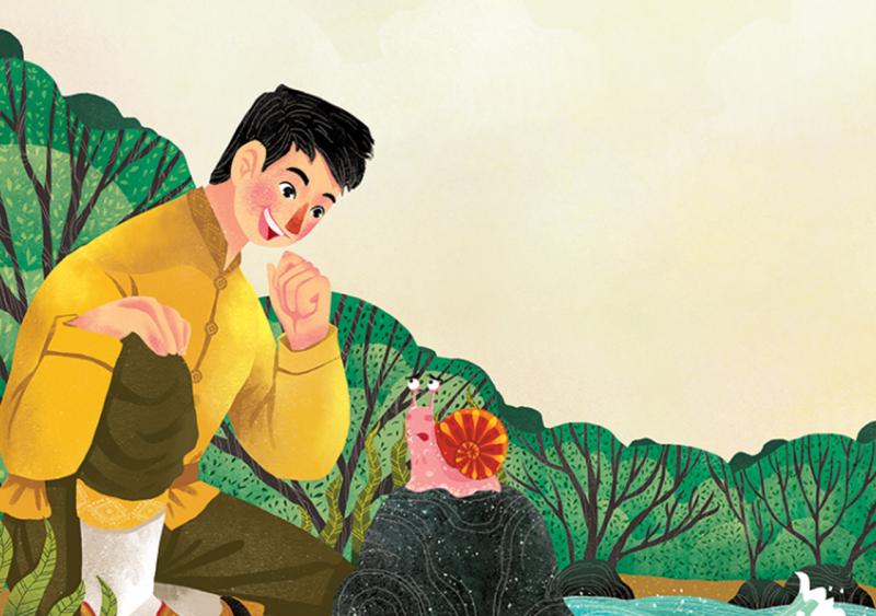 """Phạm Quang Phúc và tác phẩm """" The Great Snail Race """""""