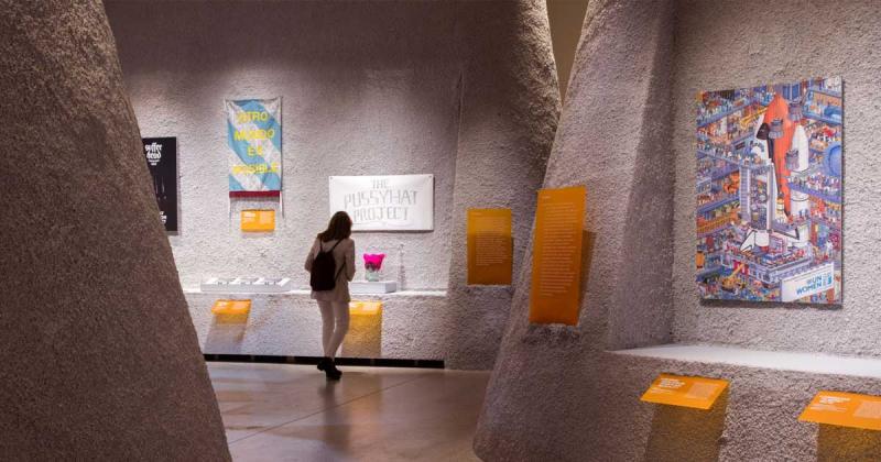 Nhìn lại những thiết kế ấn tượng của năm 2017 tại triển lãm ở Bảo tàng Thiết kế