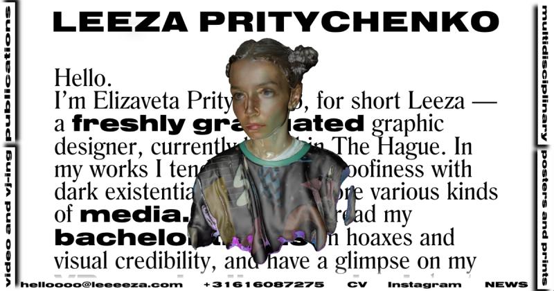 Leeza Pritychenko - kẻ tham lam sự sáng tạo trong nghệ thuật đương đại