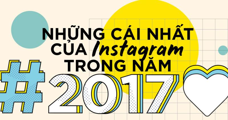 """10 cái """"nhất"""" trên Instagram năm 2017"""