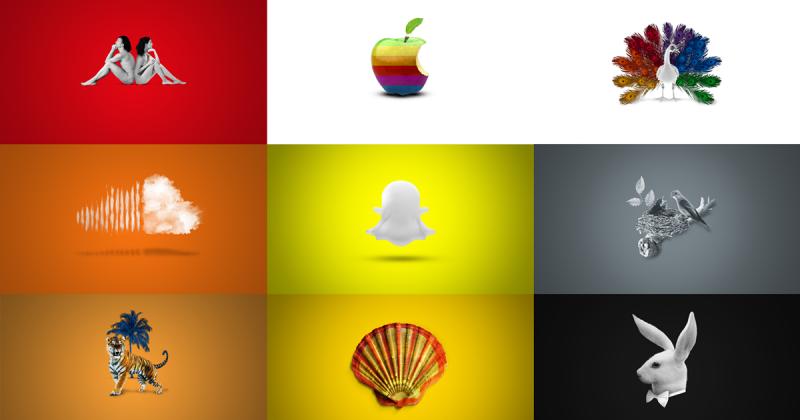 """""""Living Symbols"""": Khi logo của các nhãn hàng nổi tiếng được hiện thực hóa"""