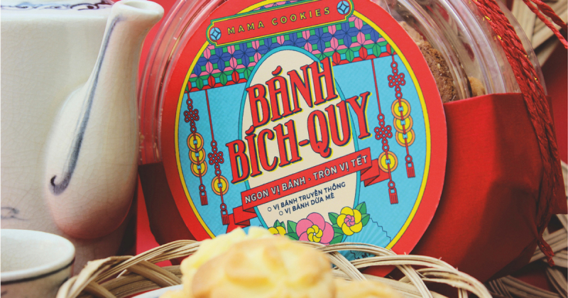 Mama Cookies và hộp bánh đậm đà truyền thống Việt