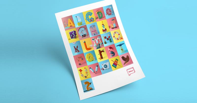 Một vòng nhìn ngắm bảng chữ cái đầy sáng tạo của Tatiana Astua