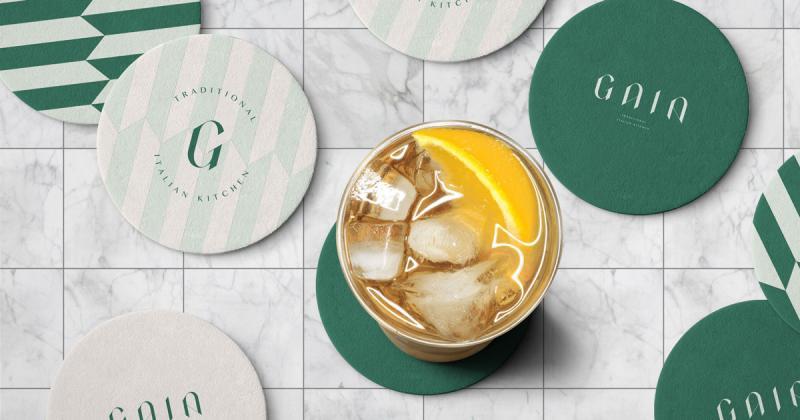 Thổi hồn thanh lịch vào logo của nhà hàng ẩm thực truyền thống Ý