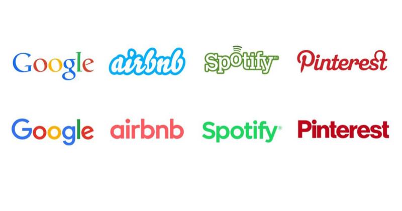 Tại sao Google, Airbnb và Pinterest đều có logo tương tự nhau như vậy?