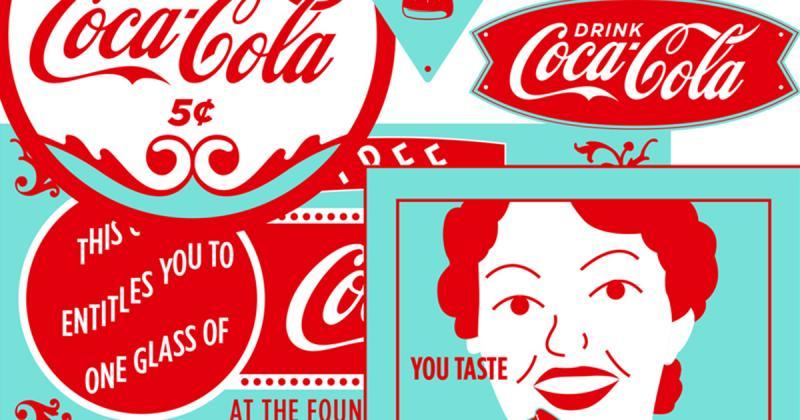 Chiêm ngưỡng poster chuyển động của Coca-Cola