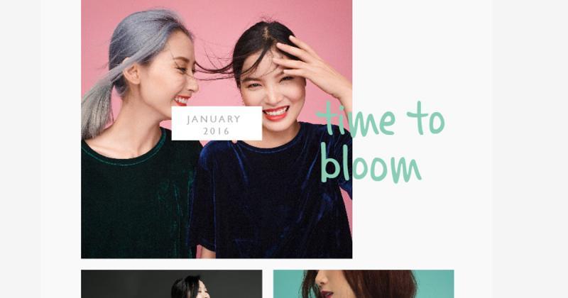 Trải nghiệm tự do cùng thiết kế web của hãng thời trang Nosbyn
