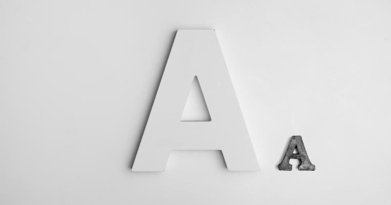 Lựa chọn font chữ cho thiết kế, nên bắt đầu từ đâu?