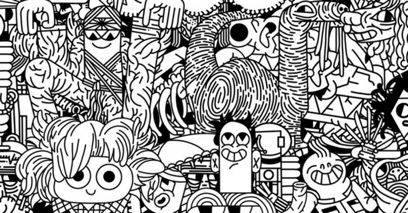 100 Pelis - cuốn sách tô màu về 100 bộ phim dành cho trẻ em