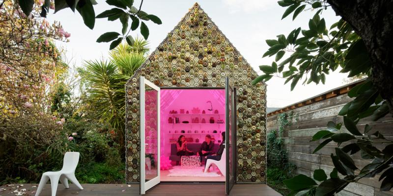 Nhà in 3D từ vật liệu tái chế, giải pháp cho tình trạng đất chật người đông
