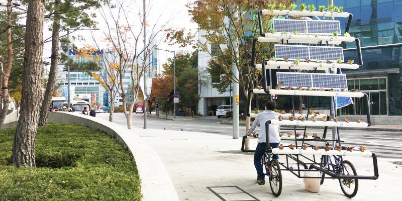Bike Share Farm - Ý tưởng giúp dân thành thị chịu khó trồng cây hơn