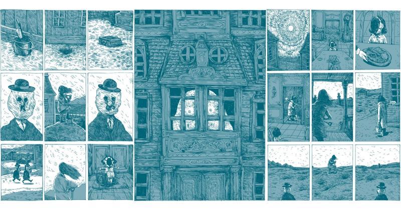 Quá trình minh họa những thế giới kì dị của Erik Svetoft