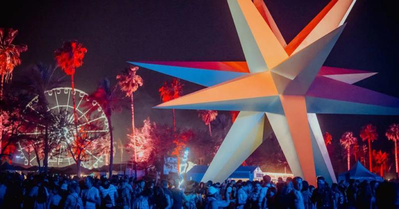 Coachella 2018 rộn ràng với nhiều tác phẩm nghệ thuật hoành tráng