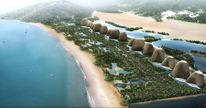 Dự án khu nghỉ mát khổng lồ Mũi Dinh Eco-park đã được chính phủ phê duyệt
