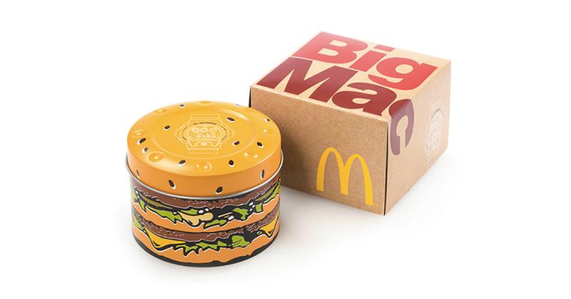 McDonald's kỷ niệm 50 năm của Big Mac với G-SHOCK và New Era