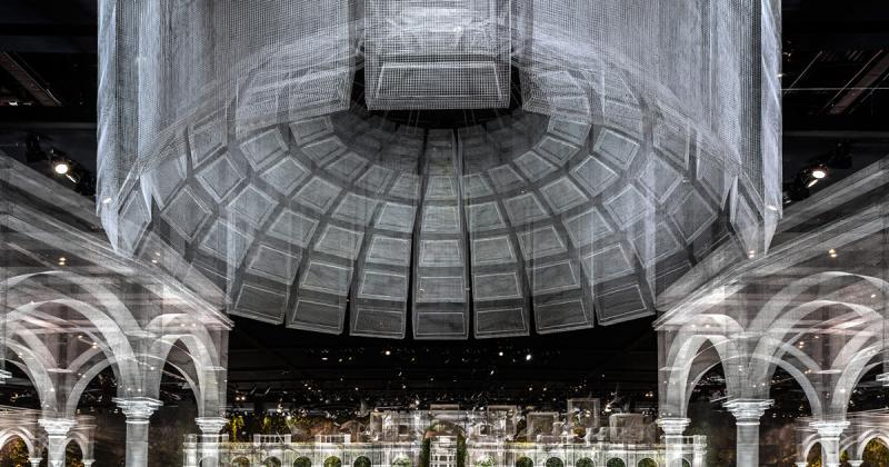EdoardoTresoldi tái tạo lại ngôi đền thiêng liêng