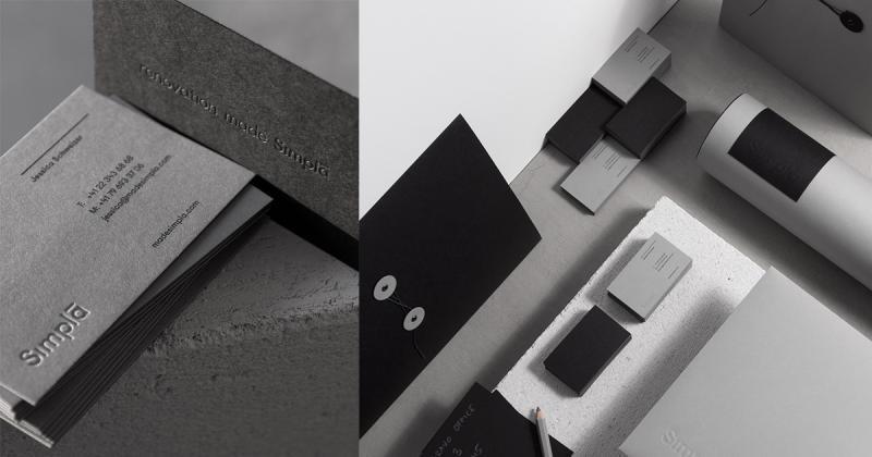 Bộ nhận diện cho Simpla - giải pháp nội thất đơn giản và thực tế