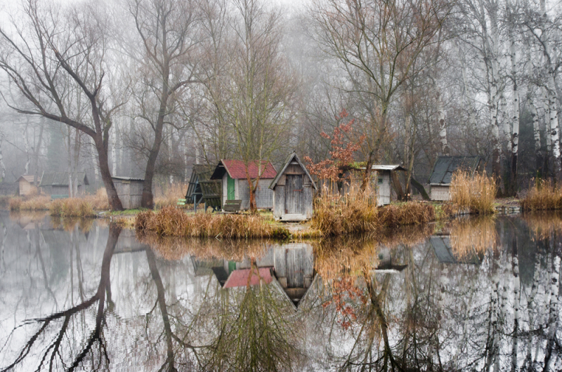 Vẻ đẹp ma mị của làng chài bị bỏ quên ở Hungary