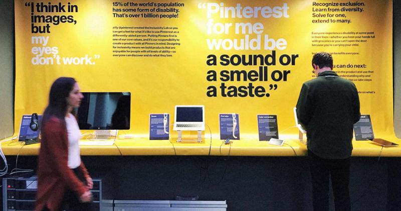 Pinterest tái thiết kế ứng dụng cho người khiếm thị