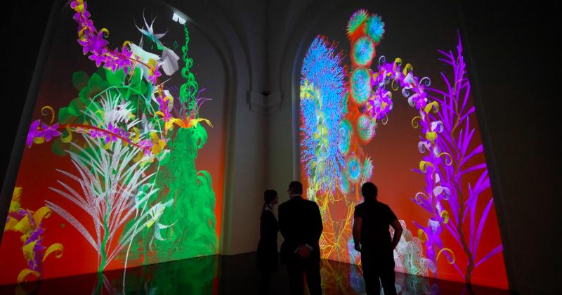 Lạc vào vương quốc hoa ảo của nghệ sỹ kỹ thuật số Miguel Chevalier