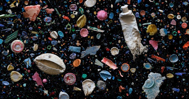 Vẻ đẹp của những chiếc rác nhựa biển dưới bàn tay nhiếp ảnh gia