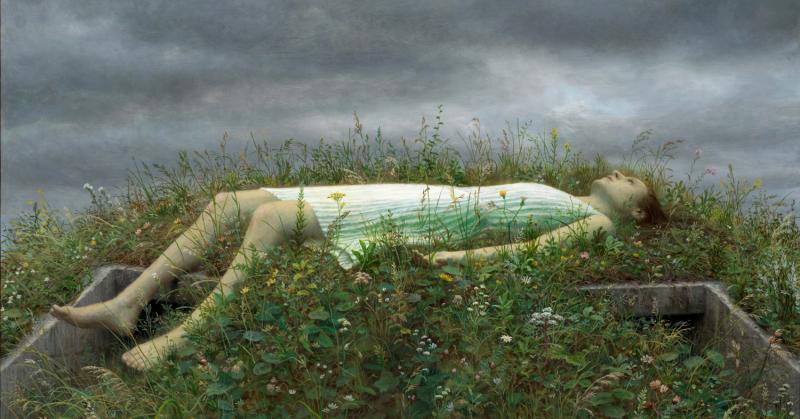 Chìm đắm trong thanh xuân u sầu cùng những bức hoạ của Aron Wiesenfeld