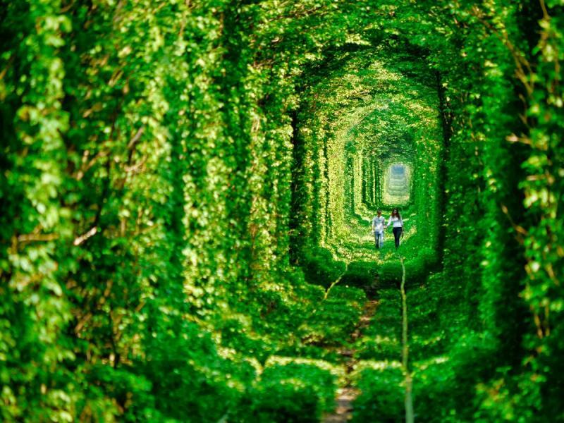 Đường hầm tình yêu Ukraina