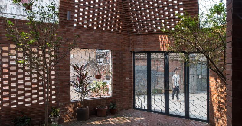 Hà Nội: Nhà gạch lấy cảm hứng từ hang động người tiền sử