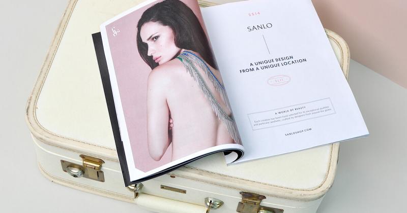 Nhận diện êm dịu đầy nữ tính của cửa hàng trang sức Sanlo