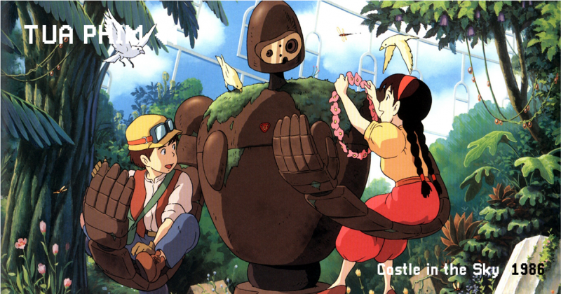 """""""Castle in the Sky"""" và sự giằng xé nội tâm của Hayao Miyazaki"""
