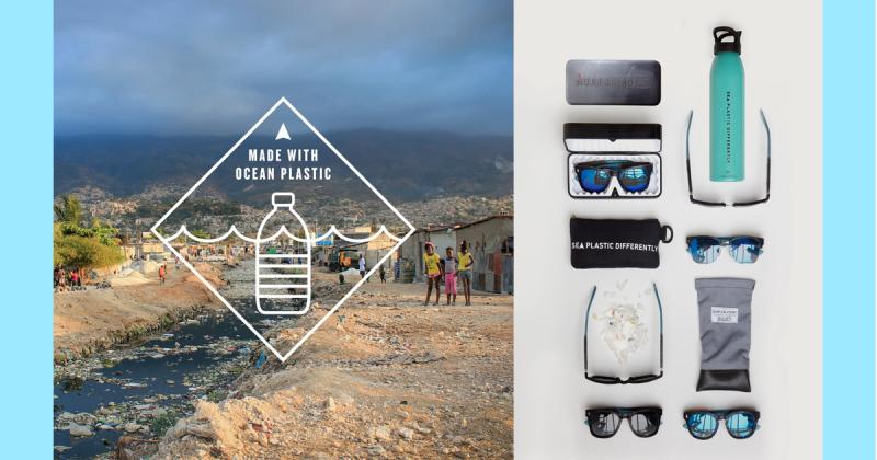 Norton Point - Mắt kính từ rác thải nhựa trong đại dương