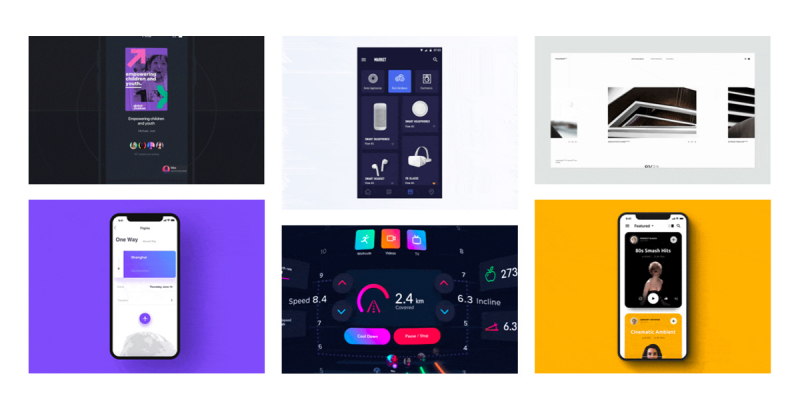 Cảm hứng thiết kế Interactive của tuần