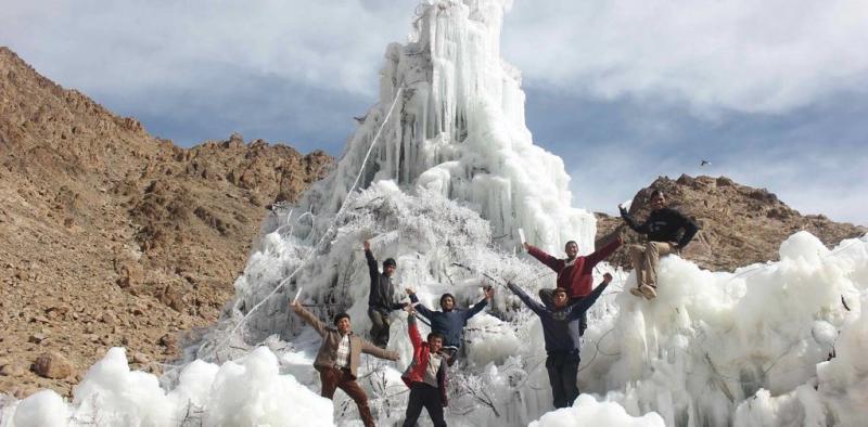 Tháp băng nhân tạo, giải pháp cung cấp nước cho người sống ở dãy Hymalaya khắc nghiệt